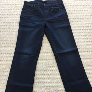 Joe's Jeans Straight Leg Black Denim Jean